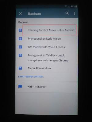 Cara Bypass FRP Samsung Galaxy J5 - Tombol Akses