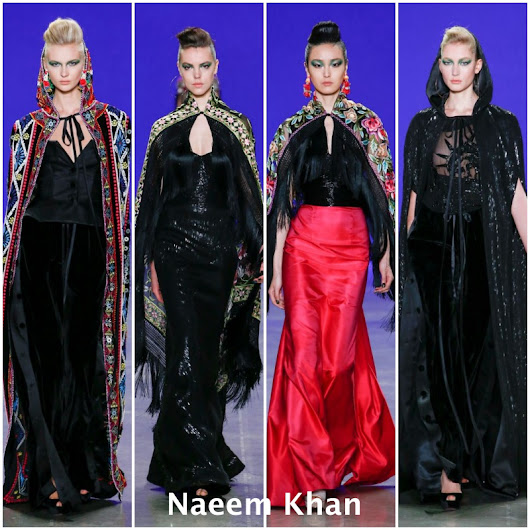 Naeem Khan - New York OI 2018/19