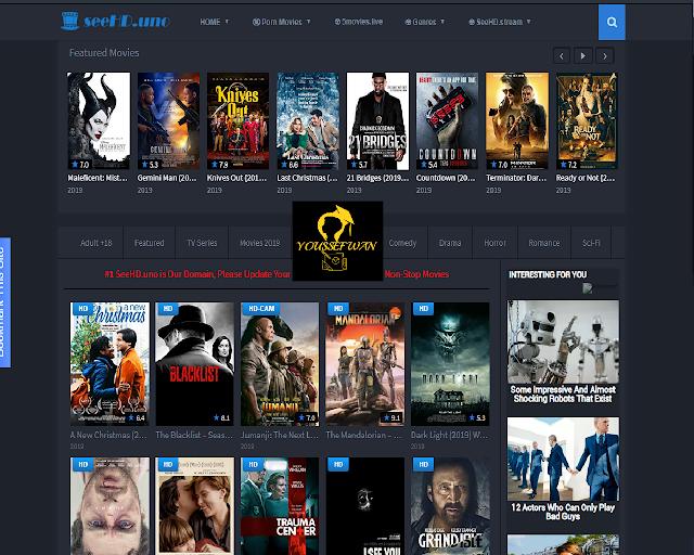 موقع SeeHD.uno لمشاهدة الاقلام والمسلسلات والبرامج التلفزيونية