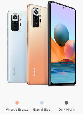 Redmi Note 10 Pro Max colours