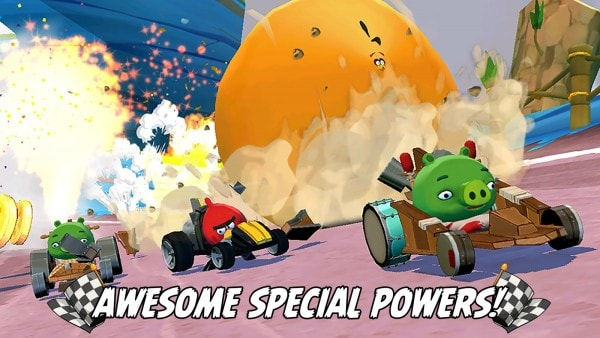Angry Birds Go! v2.2.4 Mod Apk (Unlimited Money) Terbaru