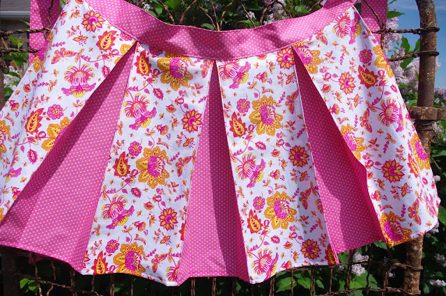 How to make a Pleated Apron