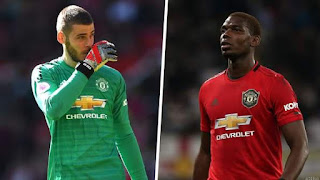 Pogba & De Gea Ruled Out of Liverpool Clash