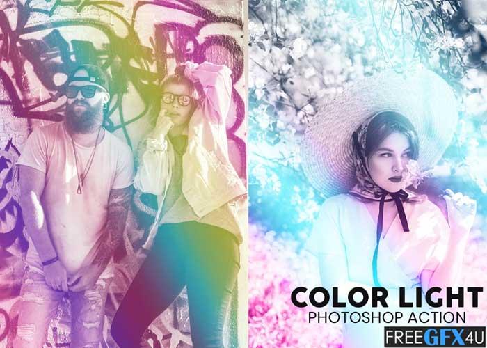 Color Light Photoshop Action