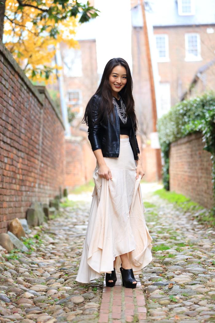 blush ASOS Skirt