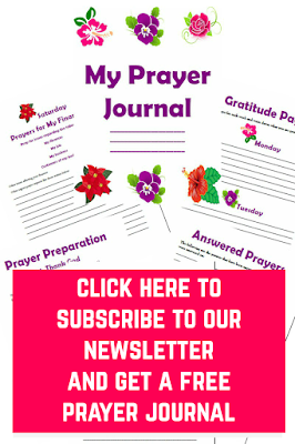 Free Printable Prayer Organizer Journal