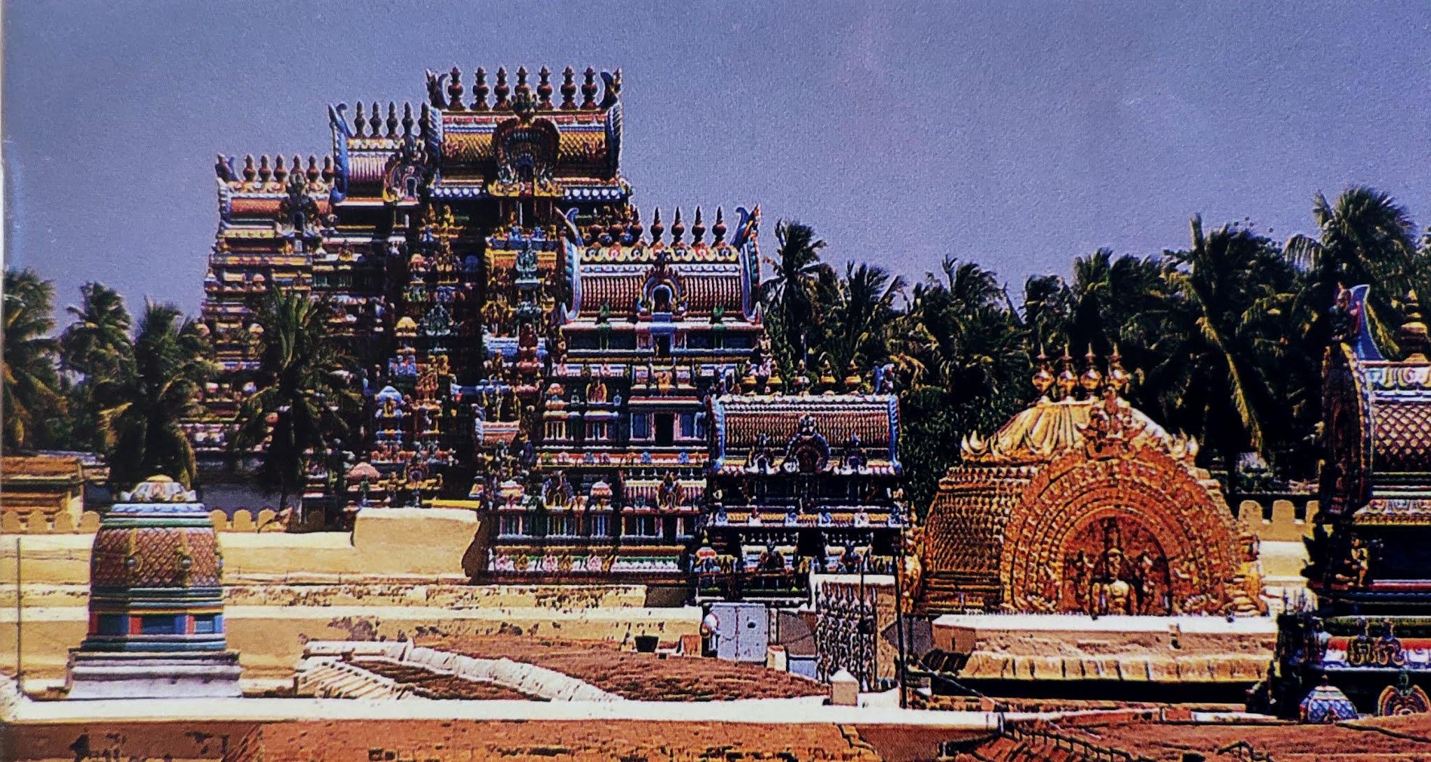 Image contains temple of tamil nadu srirangam