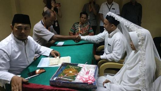 Pria Ancam Penggal Jokowi Telah Menikah di Rutan Polda Metro