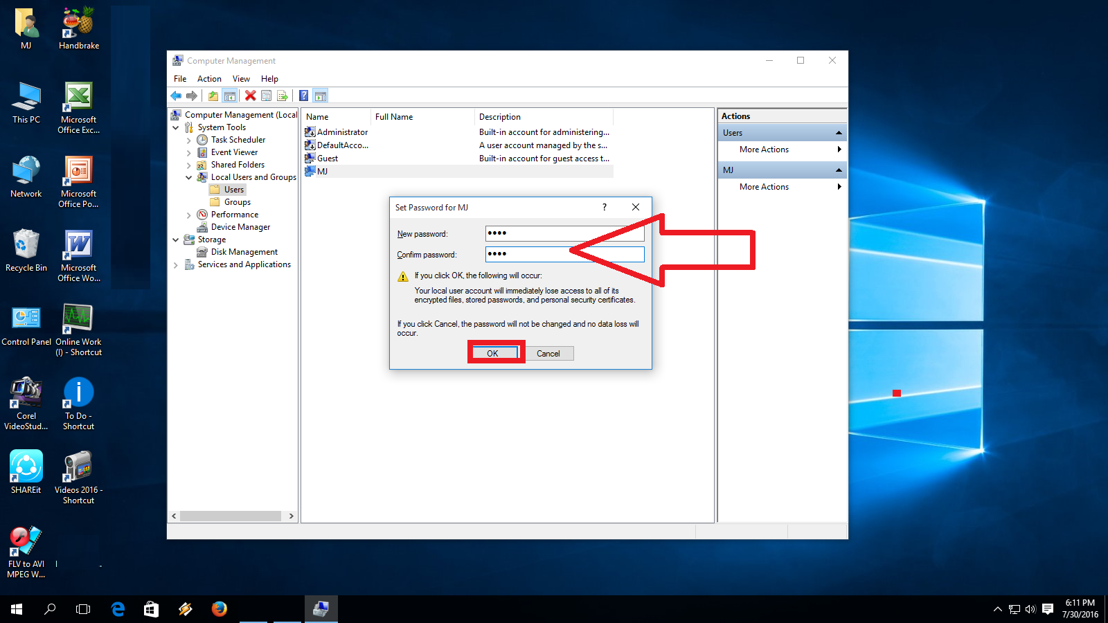 windows pc how to change username