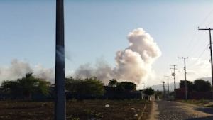 Galpão de fogos explode e uma pessoa fica ferida em Itaitinga, na Região Metropolitana de Fortaleza