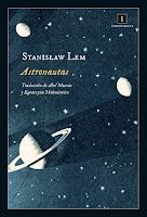 Portada de Astronautas de Stanislaw Lem