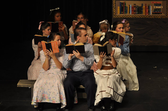 """Busy Weekend Stage Managing DMTC's """"The Music Man"""""""