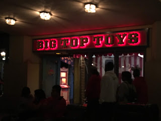 Big Top Toys Disney California Adventure at Night
