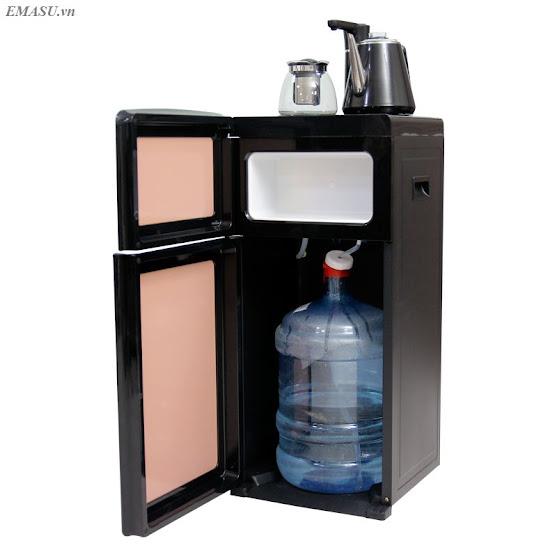 Cây nước nóng lạnh kết hợp bàn pha trà, bình âm FujiE WD1170E