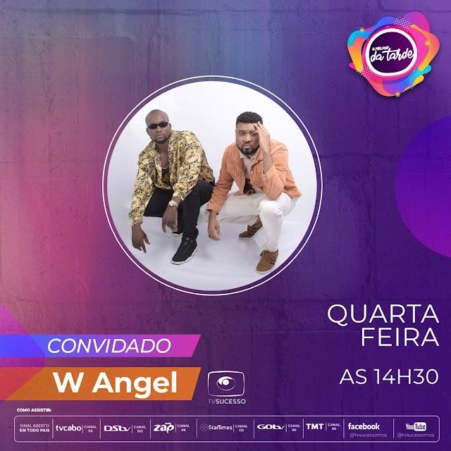 W ANGEL - Entrevista no Programa Melhor da Tarde da TV Sucesso