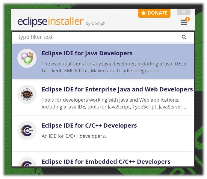 Eclipse IDE for Java Developers