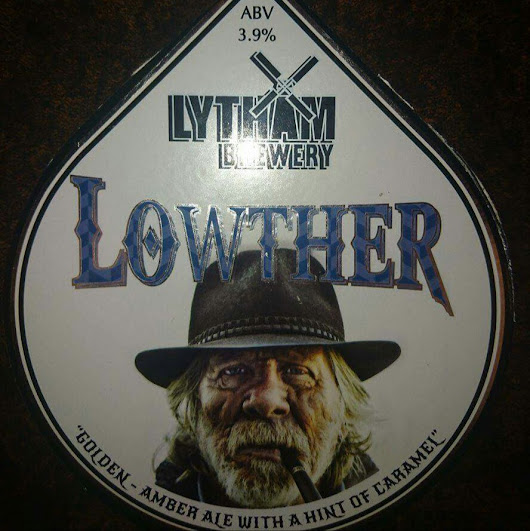 Lancashire Craft Beer Review: Lowther from Lytham Brewery