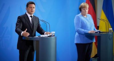 """Меркель не дала Украине гарантий безопасности после запуска """"Северного потока-2"""""""