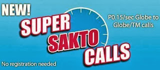 Globe super sakto call