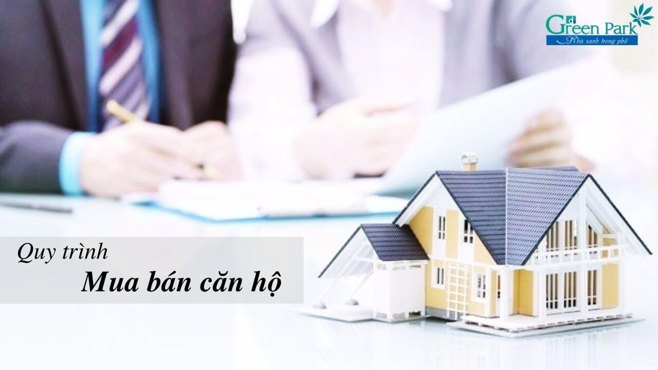 Ký hợp đồng mua bán căn hộ chung cư Phương Đông Green Park