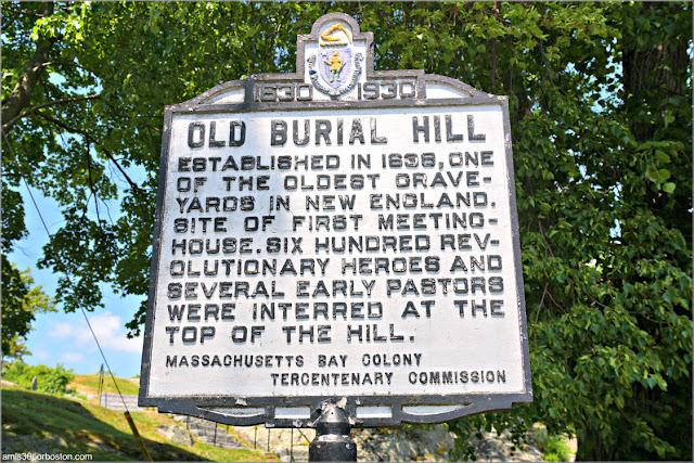 Old Burial Hill en Marblehead