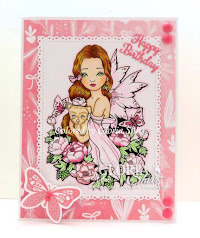 Featured Card for Cute As A Button Challenge Blog