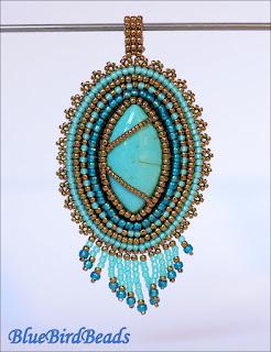 beads pendant