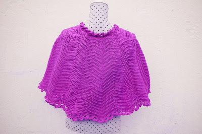 5 - Crochet Imagenes Capa para mujer para todas las tallas a crochet y ganchillo por Majovel Crochet