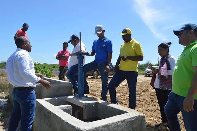 Alcalde de Riohacha supervisa alcantarillado sanitario de Matitas