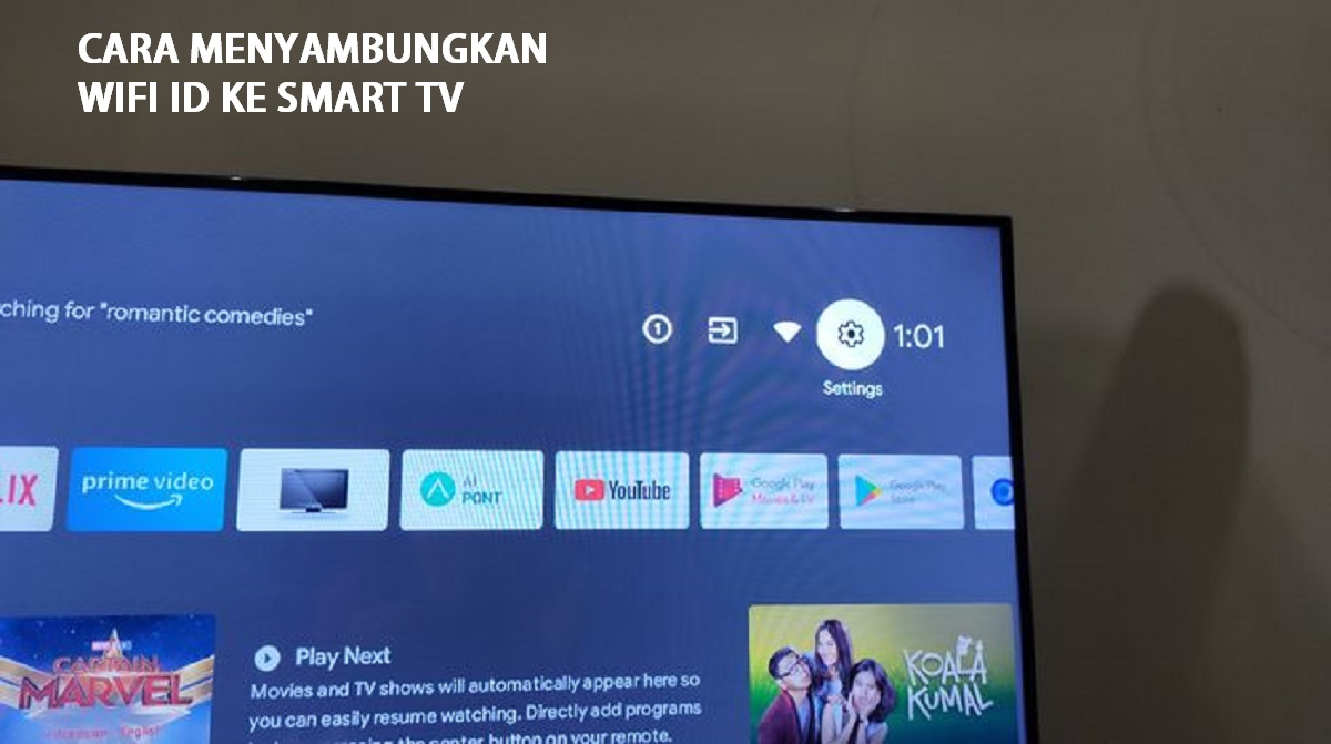 Cara Menyambungkan Wifi ID ke Smart TV
