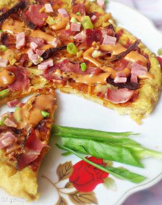 Pizza z chleba
