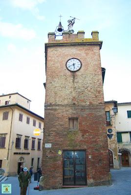 Torre del Pulcinella en Montepulciano