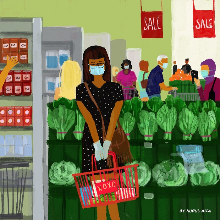 Living In Quarantine by Nurul Aida [14 Pictures You Can Relate Too]