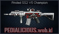 Pindad SS2 V5 Champion