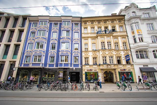 Palazzi in centro ad Innsbruck