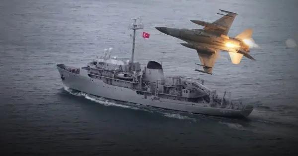 Βίντεο: Ελληνικά μαχητικά πάνω από το TCG Cesme - Εγκλωβίστηκαν από τουρκικά ραντάρ