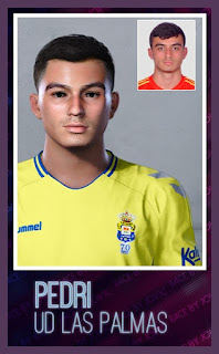 PES 2020 Faces Pedri by Jovic