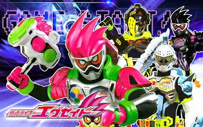 Kamen Rider EX-AID Now Streaming On Tokusatsu World
