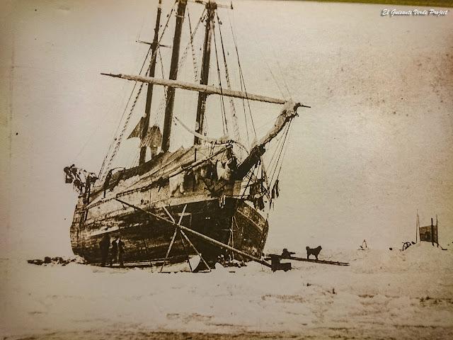 El Fram, atrapado en el hielo - Museo Polar, Tromsø, por El Guisante Verde Project
