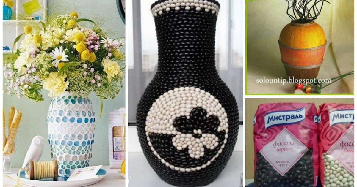 Aprende c mo decorar jarrones para tu hogar usando - Como decorar jarrones ...