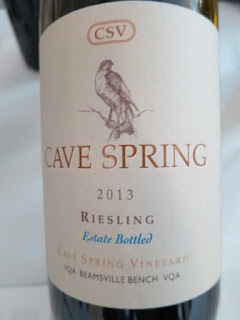 Cave Spring CSV Riesling 2013 - Estate Bottled, Cave Spring Vineyard, VQA Beamsville Bench, Niagara Peninsula, Ontario, Canada (91 pts)