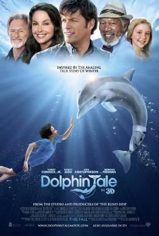 Dolphin Tale 2011 Dual Audio Hindi 480p BluRay x264 350MB ESubs