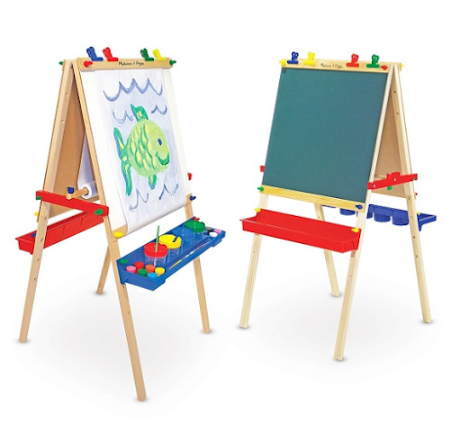 Easel as a gift for a son for 1 year
