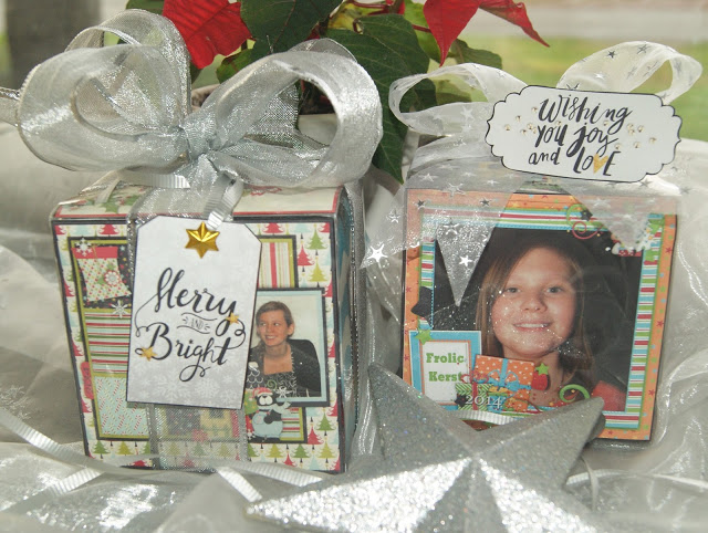 recycled scrapbooking gift idea
