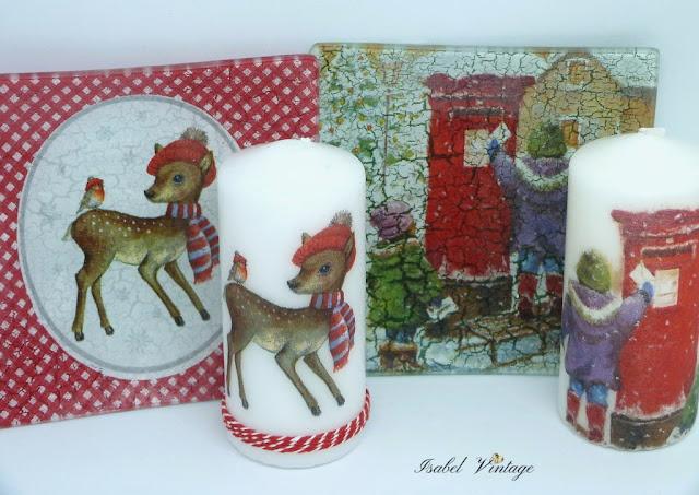 navidad-conjunto-plato-vela-decorado