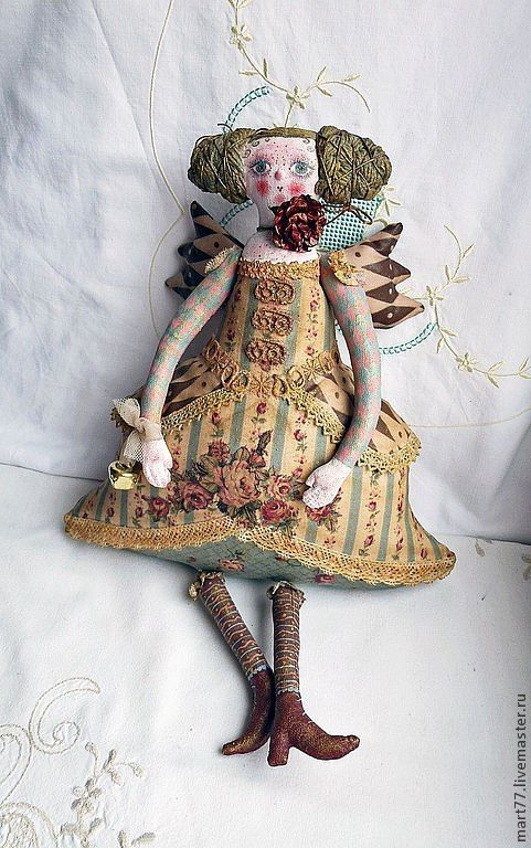 artystyczne szmaciane lale