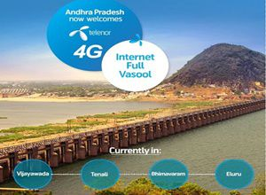 Telenor started 4G servcies in Andhrapradesh