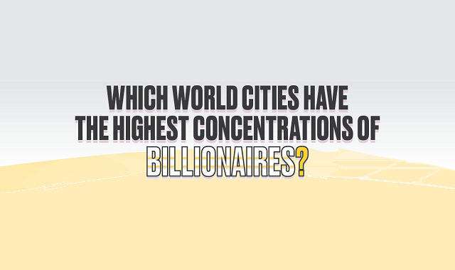 Which World Cities Have the Highest Concentrations of Billionaires?