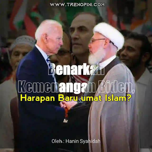 "Biden mengatakan kepada jutaan muslim bahwa dia berharap sekolah-sekolah di AS mengajarkan lebih banyak tentang Islam. ""Sebuah hadis dari Nabi Muhammad mengatakan, 'Barang siapa di antara kalian melihat suatu kemungkaran, hendaklah dia mengubahnya dengan tangannya, jika tidak mampu maka dengan lisannya, jika dia masih tidak mampu maka dengan hatinya,'"" ujar Biden yang mengutip salah satu hadis riwayat Muslim itu"