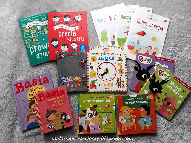 14 książek dla dzieci -  idealne na prezent Mikołajkowy i Świąteczny